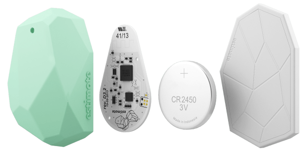 The Estimote Beacon now with Eddystone support.