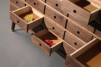 """The """"Tempel"""" has 26 drawers for storing tools and components."""