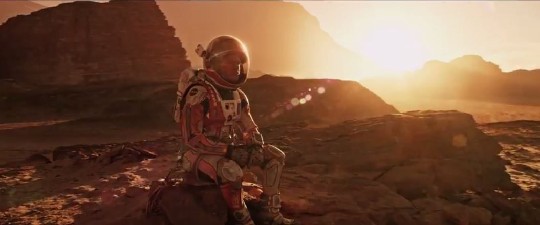 New Martian Trailer Really Brings it Home