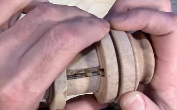 pins inside cryptex