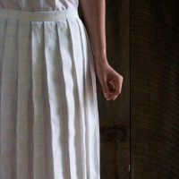 Back-To-School Fashion: Sew a Pleated Linen Skirt