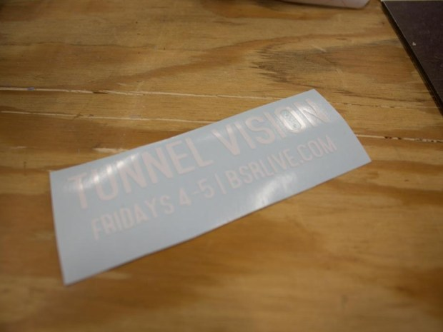 How to Make a White-on-Black Sticker with a Vinyl Cutter