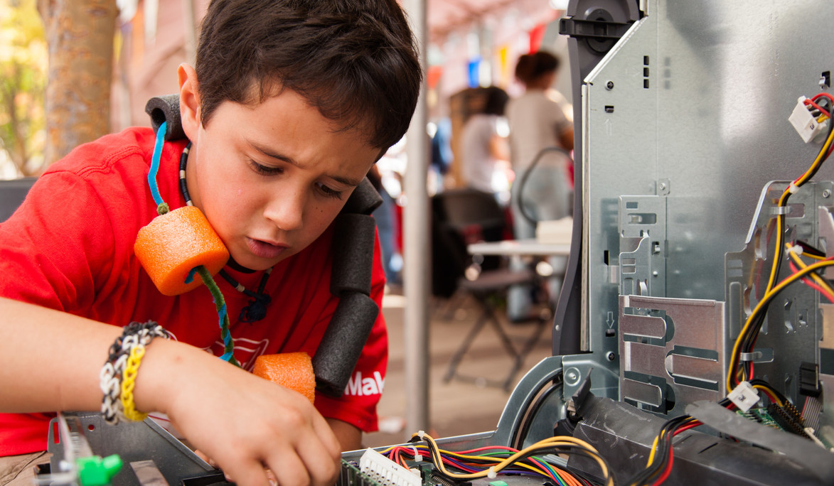Young Makers Get Inspired at Maker Faire Silver Spring