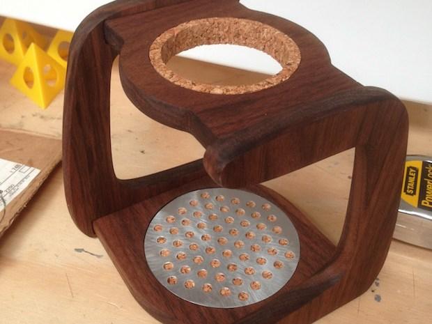 CNC Drip Coffee Stand