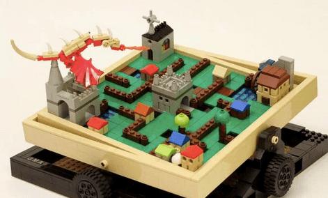 Lego maze