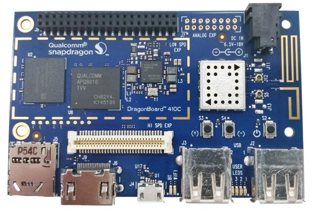 Qualcomm's DragonBoard 410c.