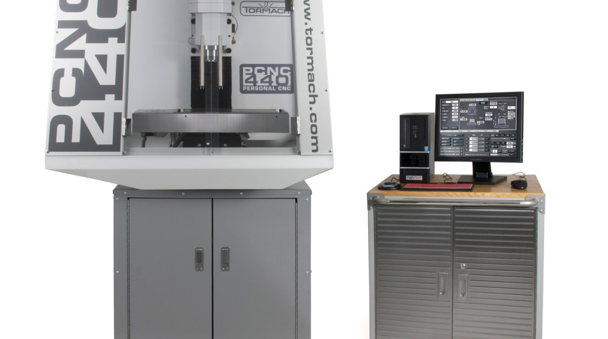 The New Tormach PCNC 440: Welcome to the Era of the 'Desktop' CNC Mill