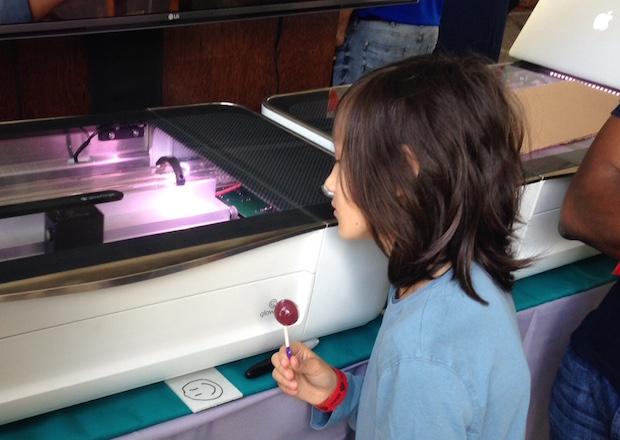 Maker Faire Attendees Get First Crack at Glowforge's Desktop Laser Cutter