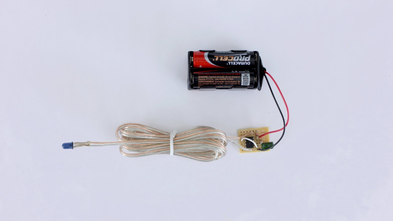 Control Halloween Effects With Diy Infrared Remote Controls Make How To Build Electronic Candle Blow Out Schematic