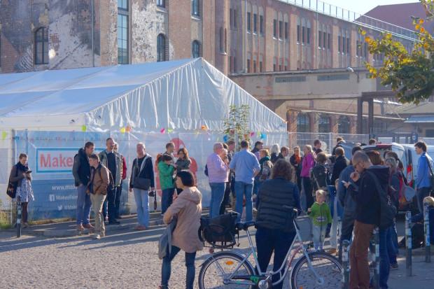 Maker Faire Berlin Opening Day