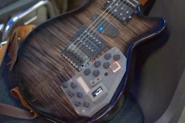 Frank Piesik's Mechatronic guitar.