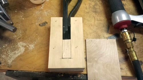 Filler to Help Hold Tools, French Cleats