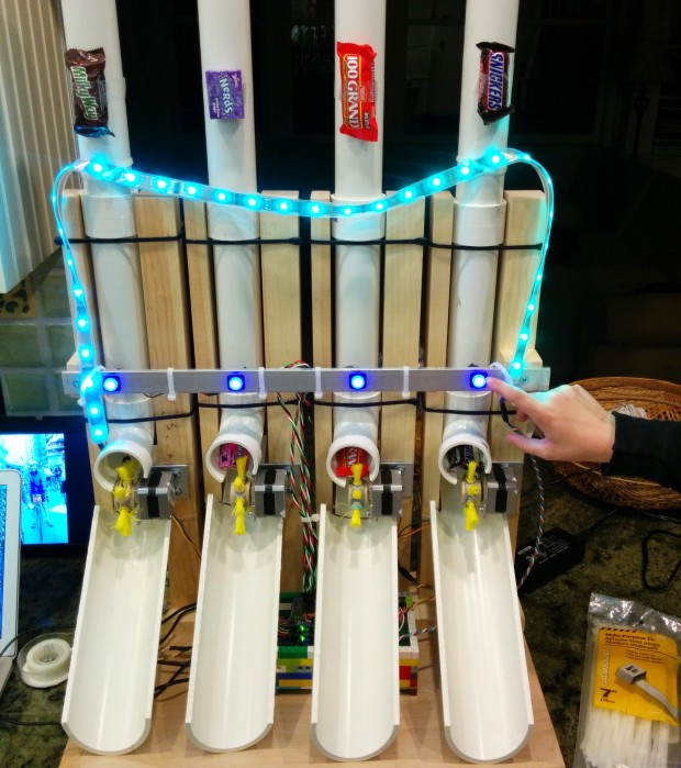 Build An Arduino Powered Candy Vending Machine Make