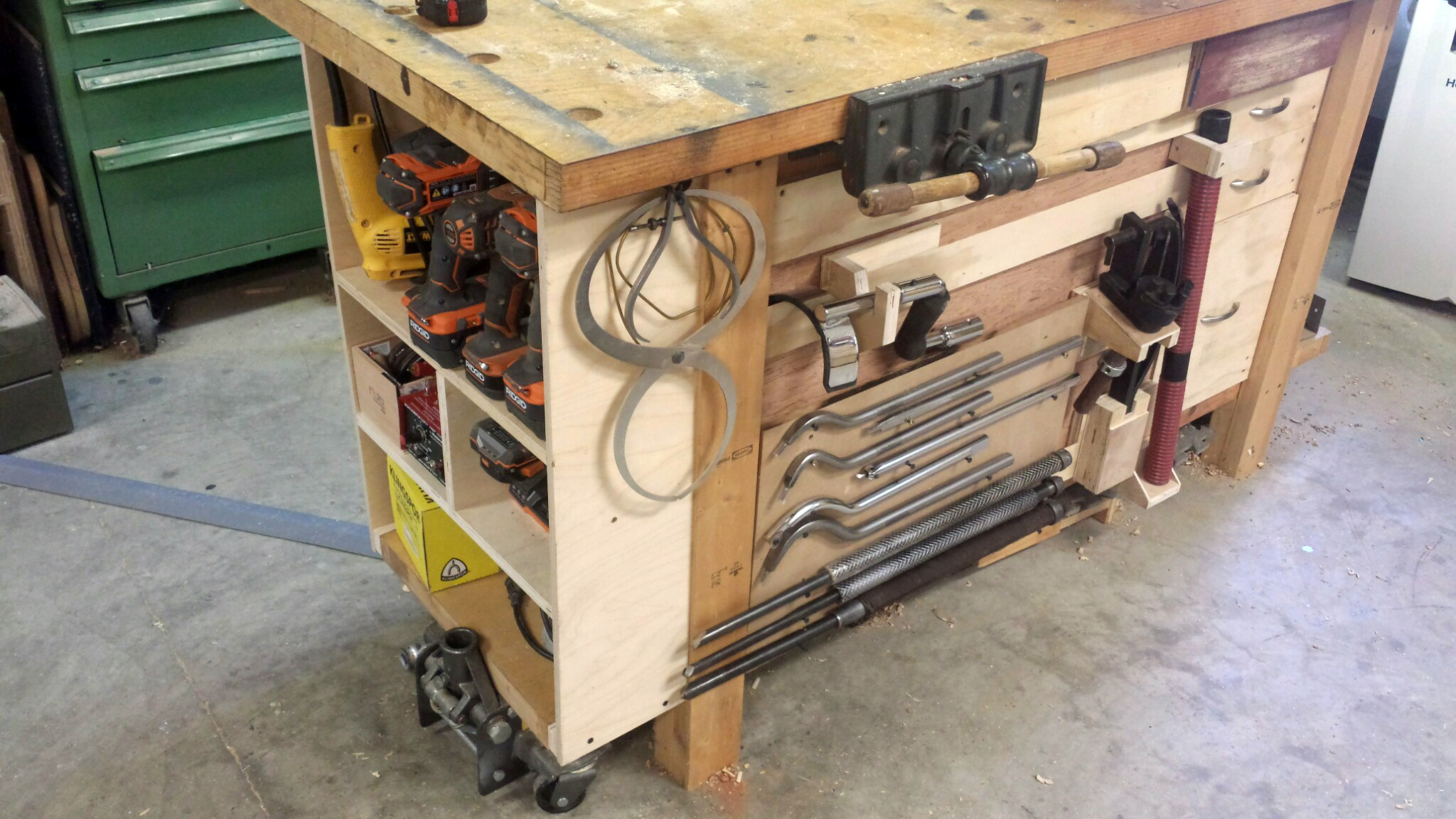 Build Modular Workbench Storage With French Cleats Make