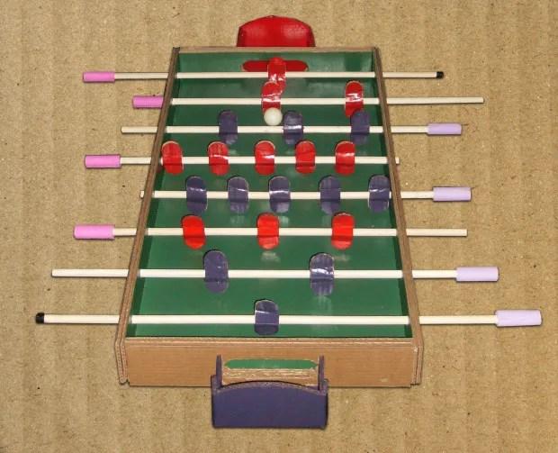 Full Foosball Table X on Foosball Layout