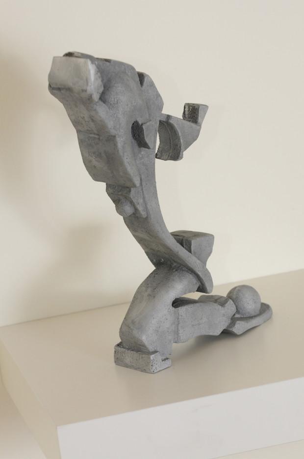 Finished sculpture