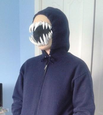 terrible teeth mask