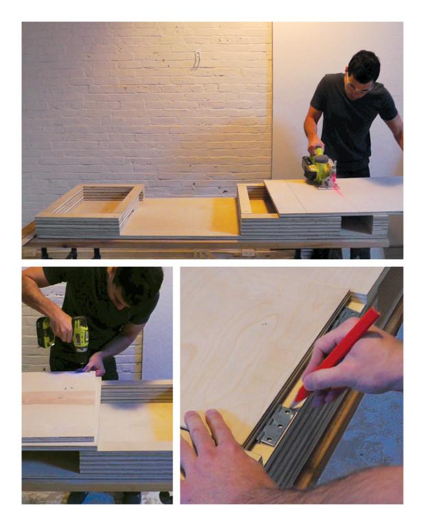 Build a Stylish, Modern Desk with Flip-Up Storage
