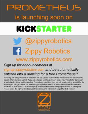 Check out the Prometheus Kickstarter!
