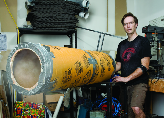 Build a Simple Vortex Cannon, Then Upgrade with a Subwoofer