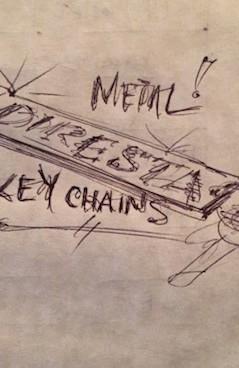 DiResta: Metal Keychains