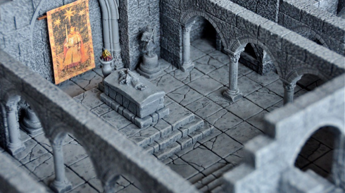 Building Your Own Dungeons for Role-Playing Gaming