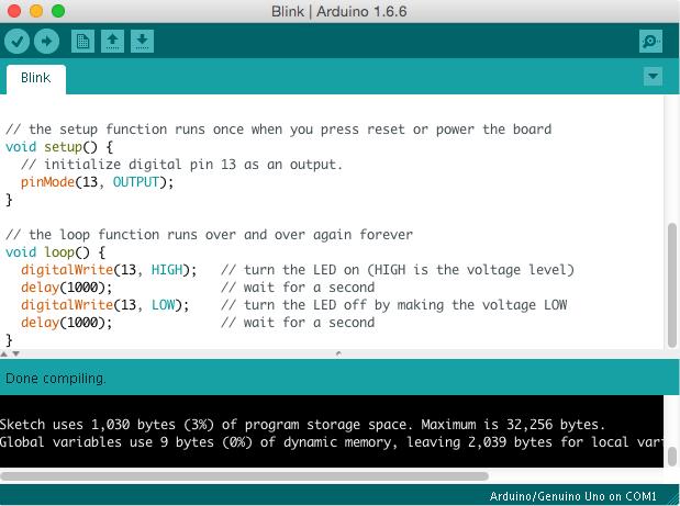 Arduino IDE 1.6.6