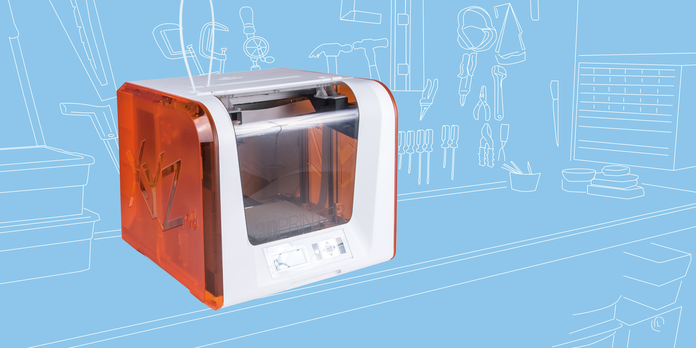 XYZprinting da Vinci 1 0 Jr | Make: DIY Projects and Ideas