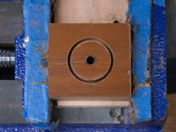 Use Your Drill Press to Carve a Wooden Ring