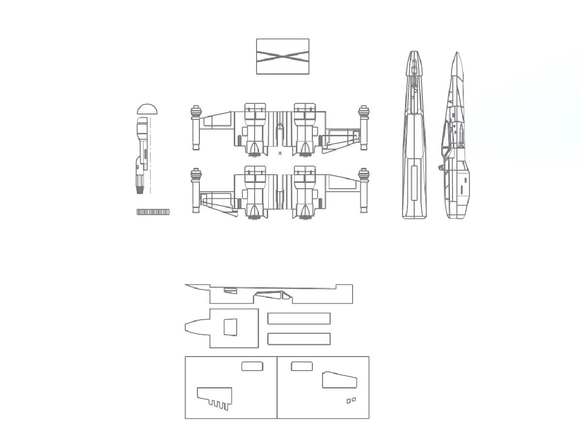Build a Lightweight Flying Foam R/C X-Wing | Make: