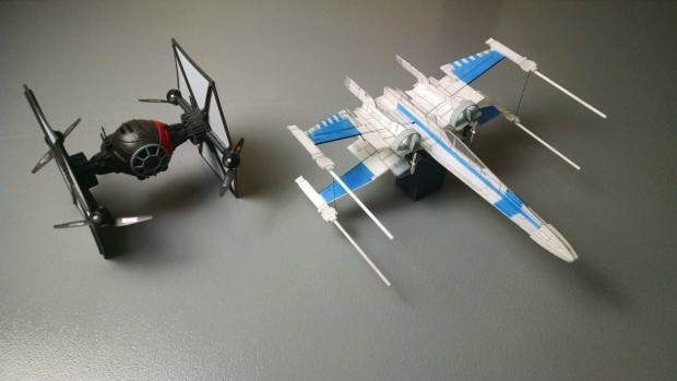 R/C X-Wing vs. TIE Fighter