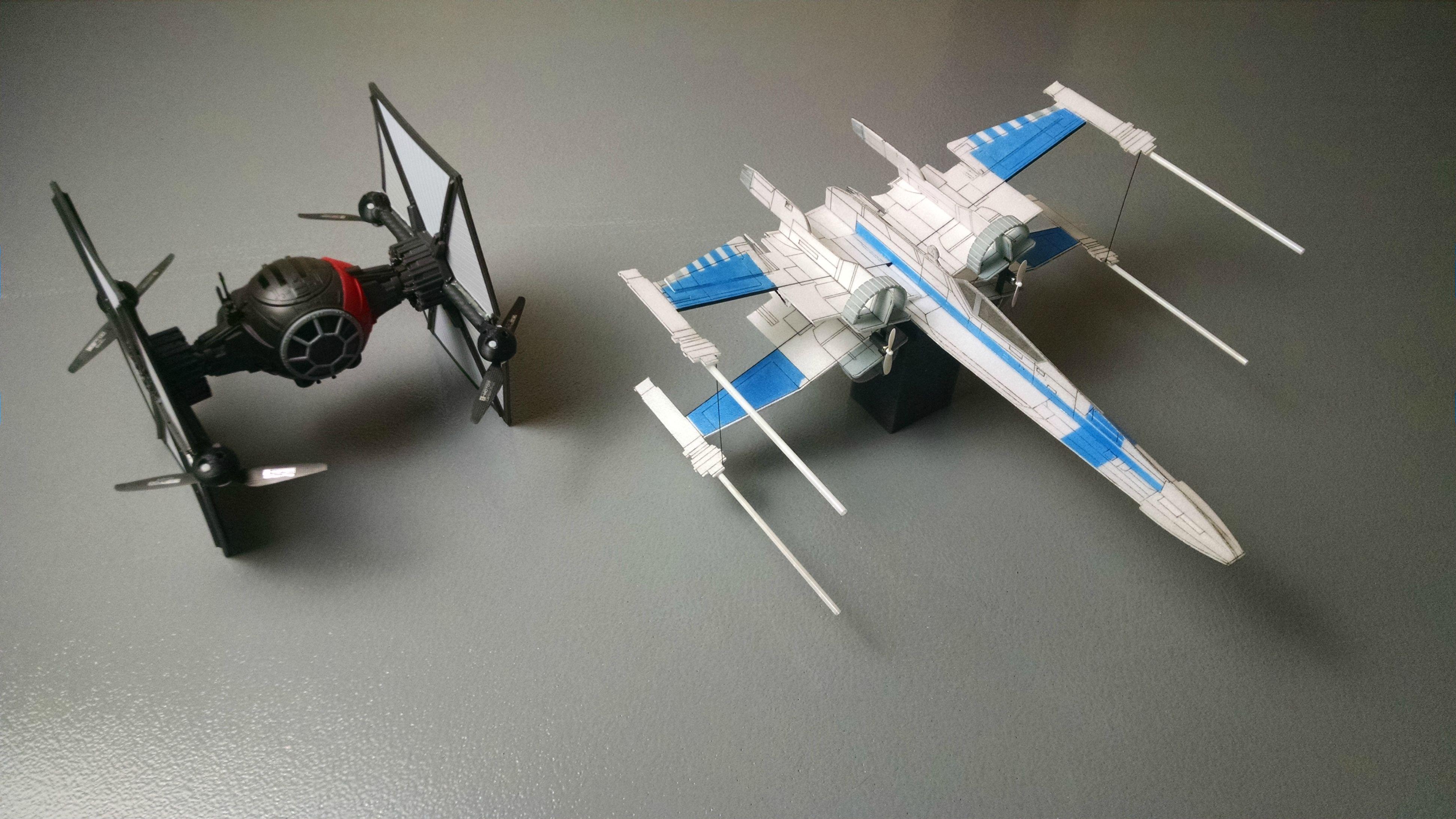 Build a Lightweight Flying Foam R/C X-Wing | Make: on