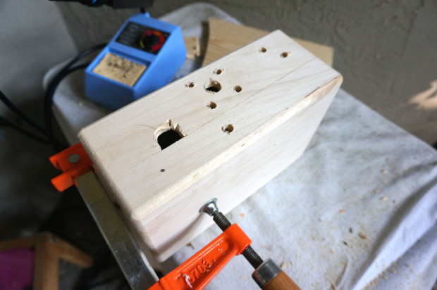 Drilling holes