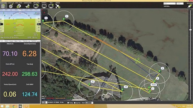 DroidPlanner and other software options let pilots create autonomous routes to search an area without any hands-on control of the aircraft.