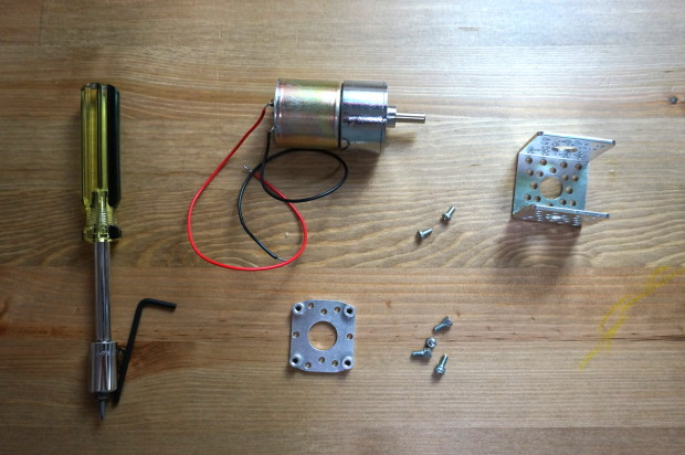 Motor assembly parts