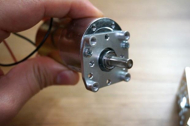 Attaching motor bracket