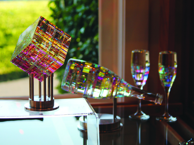 Chroma Cube_Champagne set