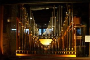 More pipe organs