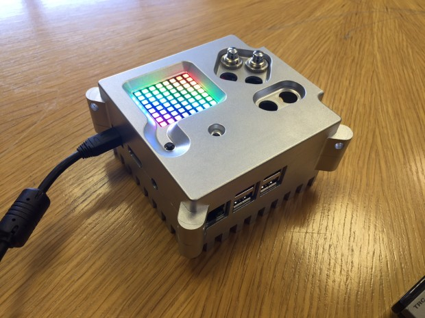 The Astro Pi (Credit: Raspberry Pi Foundation)