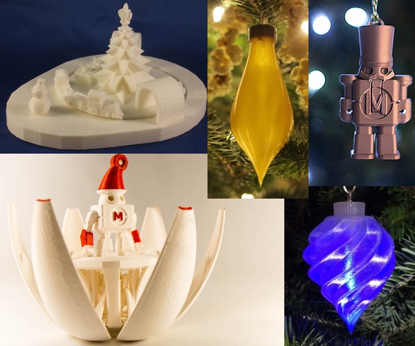 This Beautiful Spinning Egg Ornament Just Won an Ultimaker!
