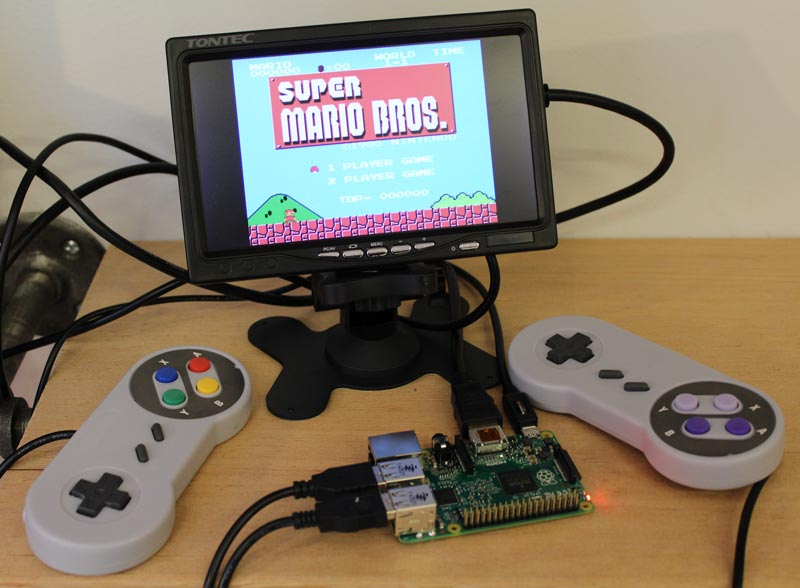 Build a Retro Gaming Console with Raspberry Pi