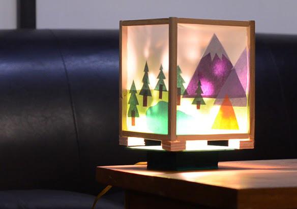W9 - Spinning Lamp Pt. 1