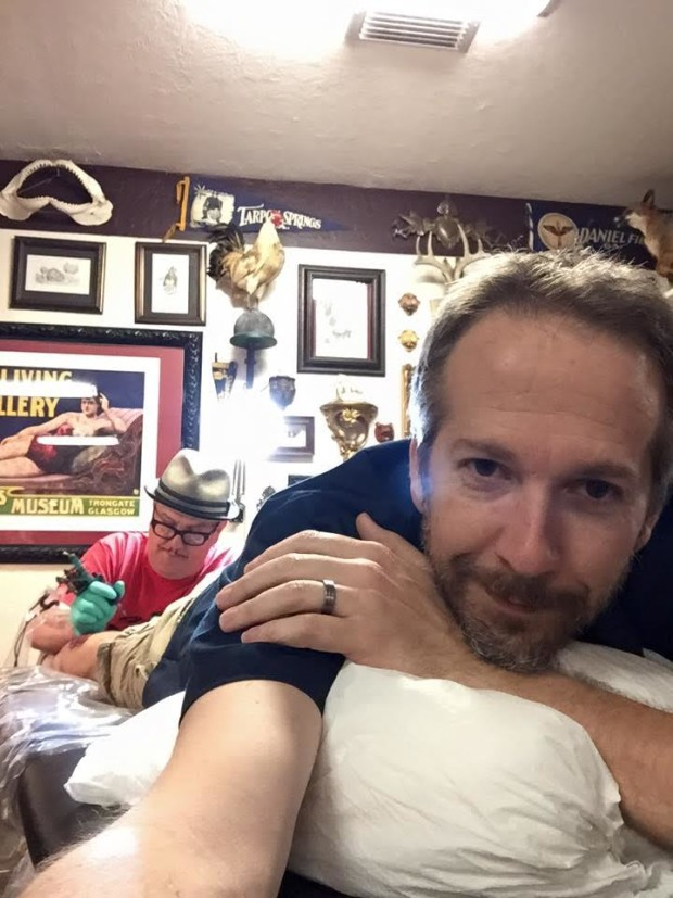 ian cole tattooed