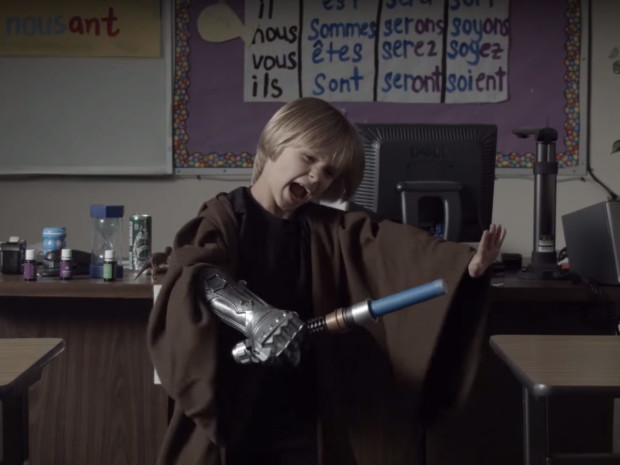 From LITTLE STAR WARS The Force Awakens: Kids Parody