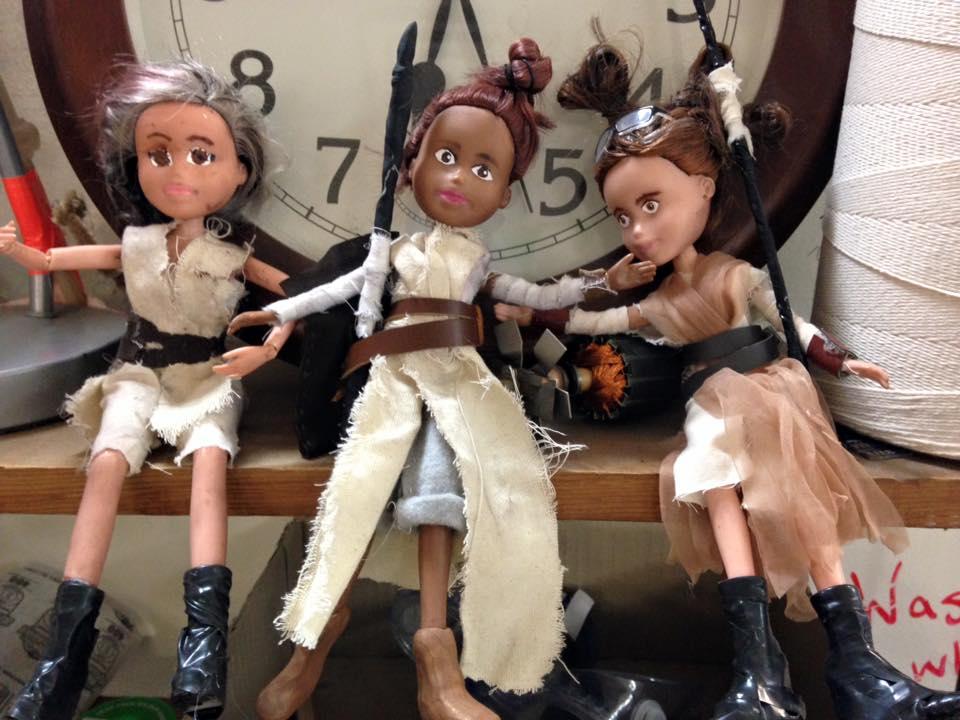 Kids Turn Bratz into Star Wars Rey Dolls