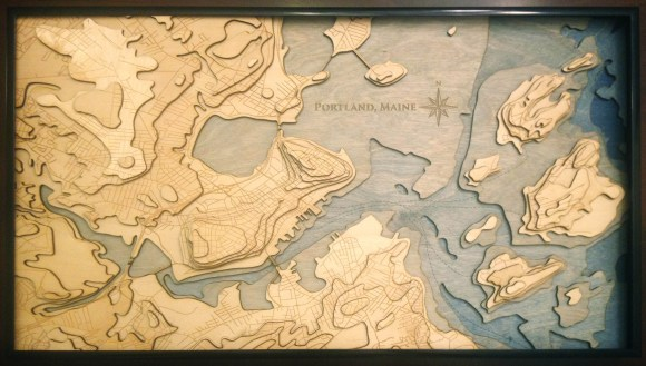 Want to Make a Topographical Map? This Artist Will Show You How