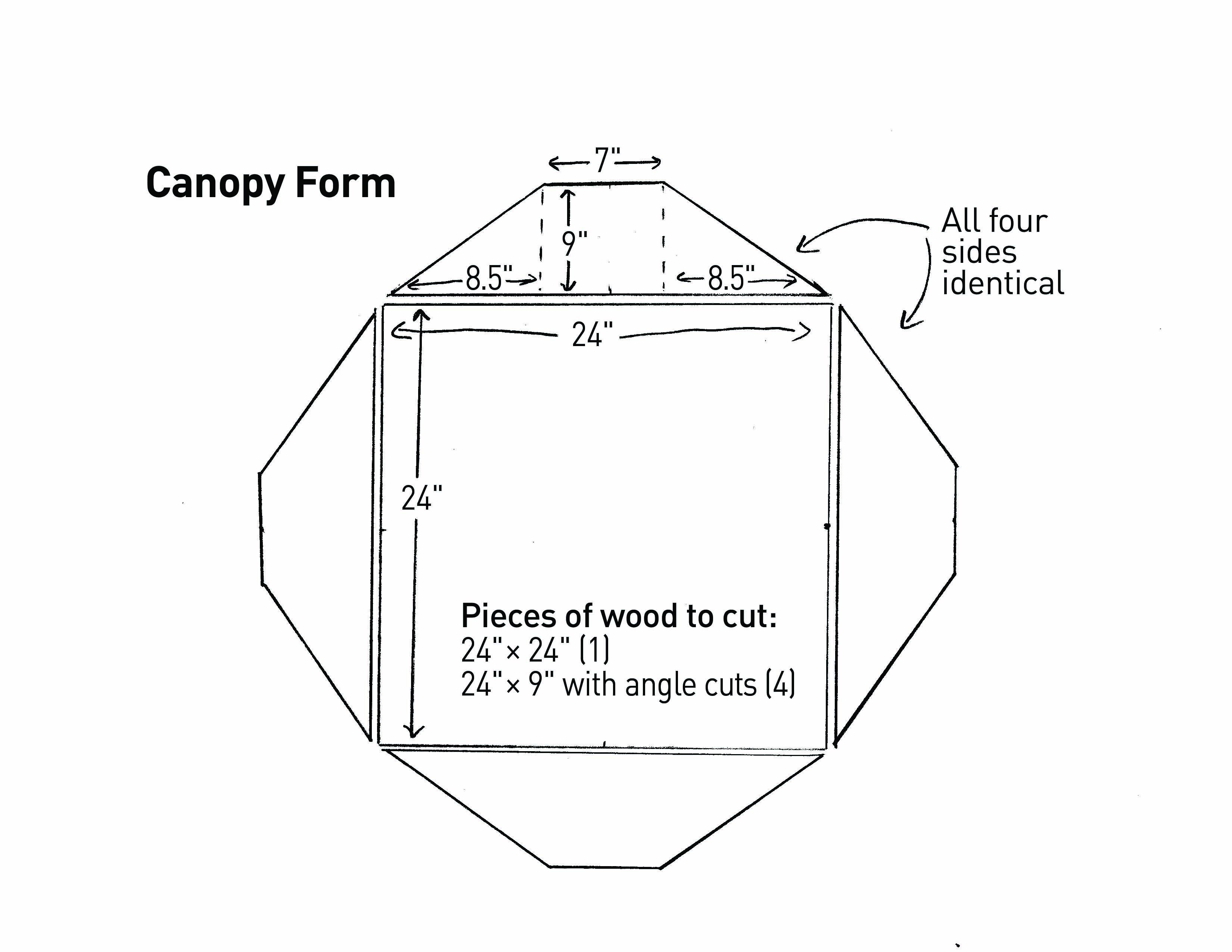Build Custom Molds To Pour A Concrete Japanese Lantern