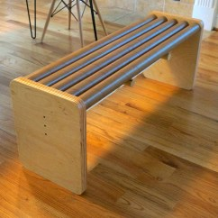 Extra Wide Office Chairs Awesome Desk Build A Modern Bench With Cardboard Tubes | Make: