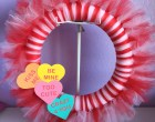 Make a Sweet and Simple Tulle Valentine's Wreath