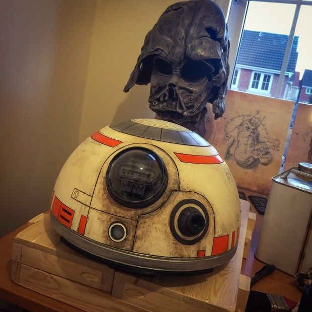 Weathered BB-8 Dome